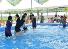[경산]하양체육공원 바닥분수 수경시설 및 어린이 물놀이장 개장
